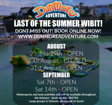 Last of the Summer Wibit Wipeout!